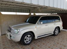Used condition Lexus LX 2004 with +200,000 km mileage