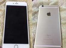للبيع  iPhone 6s Plus 64 GB شبه جديد مكان البطاقه مايشتغل يحتاج تصليح