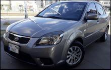 سيارة كيا ريو موديل 2010 للبيع بحالة جيدة جدا لا تحتاج مصروف ولا ليرة