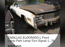 Cadillac Eldorado 1977 For sale - White color