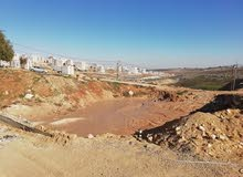 قطعة ارض سكنية 800 م مطلة على شارع الاردن - خربة مسلم للبيع