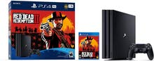 بلايستيشن 4 برو Playstation 4 Pro Red Ded Redemption 2