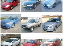 مجموعه سيارات للبيع سنترا كرولا كامري جيب