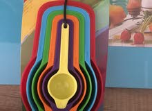 أدوات مطبخ جديدة طقم حلل سيراميك و طقم سكاكين و أدوات اخرى