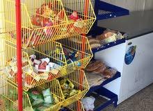 محل مواد غذائيه للبيع