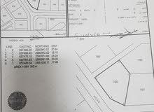 للبيع ارض  الولايه العامرات منطقه الحاجر مرحله الثانيه