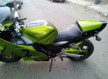 Used Kawasaki motorbike up for sale in Tripoli