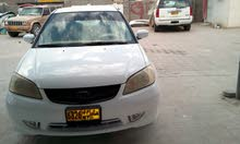 Used condition Honda Civic 2005 with +200,000 km mileage