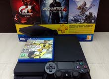 ps4 slim [ box catlouge one controller n all cablesi
