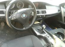 Silver BMW 520 2006 for sale
