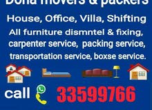 Doha Movers packers carpenter available