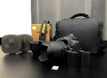 Nikon D7000 Full Kit with 2 Lenses Memory and Two Batteries