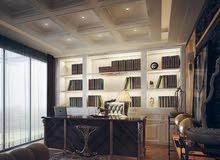 تصميم وتنفيذ الديكورات العصريه بأسعار خياليه للمنازل العصريه Silk M M decoration