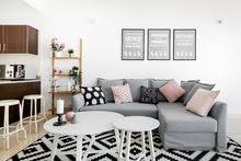 دبي اللبرشاء 1 مول الامارات غرفة وصالة مفروشة سوبر لوكس - ايجار شهري شامل