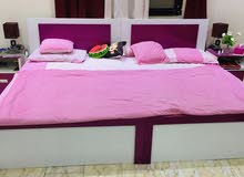 pink white Bedroom Set