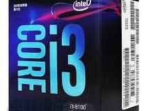 i3 8100 processor معالج i3الجيل الثامن مع المروحة الخاصة به
