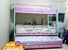 سرير 3 دور من شركة لهفة بضمان مدي الحياة