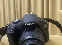 كاميرا كانون eos2000d