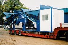 Centrale à béton Sumab K80 est conçue sur un châssis de conteneur