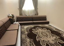 sofa and carpets
