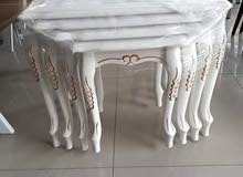 Renew your home now and buy a Tables - Chairs - End Tables New