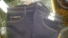 بنطلون جينز ستريتش جديد مستورد صناعة اندونيسي ماركة امبوريو مقاس 46 يلبس حتى مقا