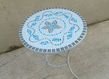 Mosaic round table