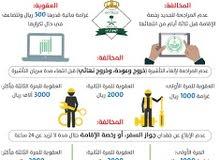 إنجاز جميع خدمات وزارة العمل والجوازات