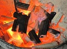 فحم شواء وتدفئة