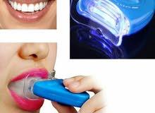 جهاز تبييض الأسنان بالليزر