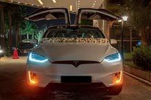 للأعراس تيسلا x ابيض 2019 سوق الاردن للسيارات