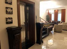More rooms More than 4 bathrooms Villa for sale in AmmanJubaiha