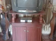 تلفزيون وريسيفر وتربيزة
