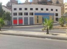 وادي الرمم-ش. اليرموك- محلين للايجار بمساحة 110م +طابق سده اسمنتيه بنفس المساحة