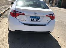 Toyota Corolla 2016 For sale - White color