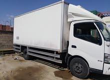 كراء شاحنة لتبريد اوشراكة هينو 2014 5طن في حالة جيدة جدا