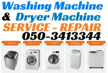 Washing Machine Dryer Service Repair and Parts Fixing in Dubai