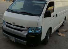 Gasoline Fuel/Power car for rent - Toyota Hiace 2016
