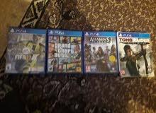 دسكات PS4 مستعملات للبيع لاعلى سعر