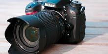 مطلوب كاميرا نيكون d7200