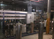 خصم 50%*محطات تحلية مياه مركزية أوروبيه  الصنع ممتازة*