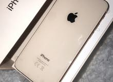 بيع ايفون 8 سعة256 جيجابايت جديد لم يستعمل