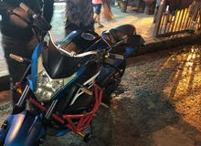 دراجة نارية النوع cxsy الصنف cx2505A اللون ازرق للبيع بداعي السفر