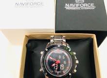 ساعة (نافي فورس) اصلية جديده لم تستخدم نهائياً