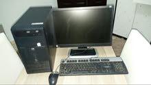 جهاز كمبيوتر مكتبي hp براند doul core