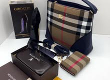 شنطة بربري مع محفظة