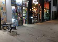 محلين مفتوحين على بعض للبيع بمجمع مدينة المشايخ (مجمع دلال)