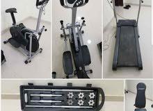 ادوات رياضية 1500ريال قابل للتفاوض سبب البيع لدواعي السفر الجاد براعيه  بسعر