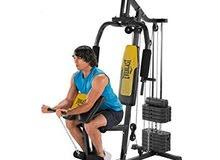 الات صالة رياضية منزلية نوع Everlast EV800 Home Gym with Preacher Pad مستوردة من
