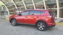 Red Toyota RAV 4 2016 for sale